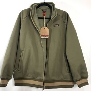 Patagonia Tin Shed Dark Ash Olive Green Jacket NEW